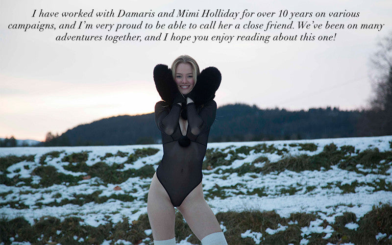 Mimi Holliday | Luxury Lingerie | Norway | BTS | Designer Lingerie