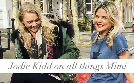 Jodie Kidd & Mimi Holliday Luxury Designer Lingerie