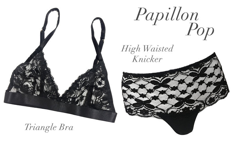 Mimi Holliday | Luxury Lingerie | Papillon Pop | Designer Lingerie | Bralette