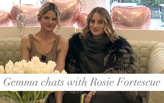 Rosie Fortescue & Mimi Holliday luxe designerlingerie
