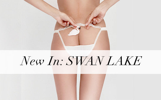 Mimi Holliday | Luxury Lingerie | Swan Lake | Designer Lingerie