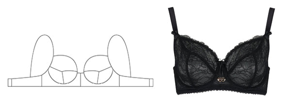 Maxi Bras | Mimi Holliday Luxury Designer Lingerie