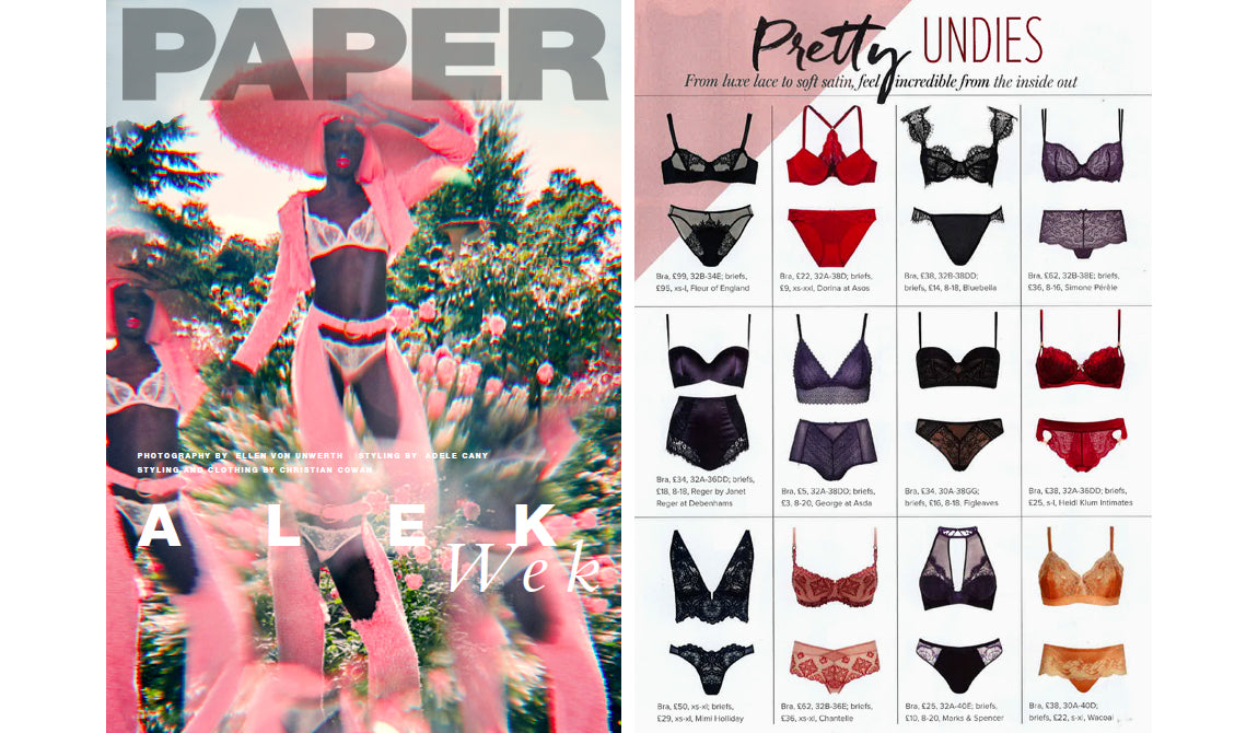 Papiermagazin | Mimi Holliday Luxus Designer Dessous