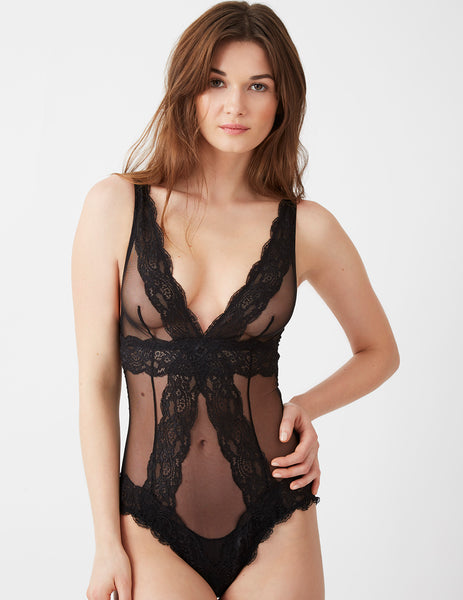 Bisou Bisou Noir Body