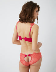 Juniper Pink Triangle Bra | Damaris Designer Undertøy