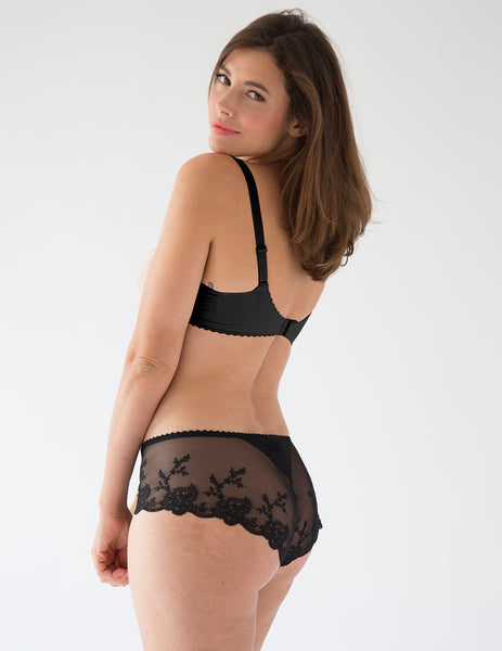 Elise Noir Cheeky Boy Short brief