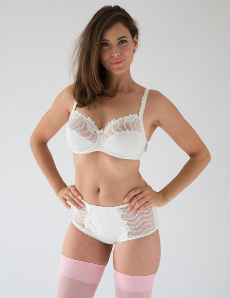 Lys Royal Creme Full Cup Bra DH Cup