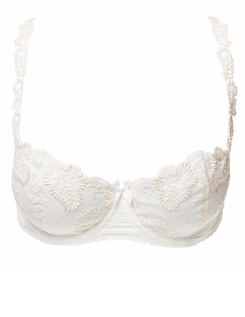 Elise Dreamy Ivory Balconnette BH