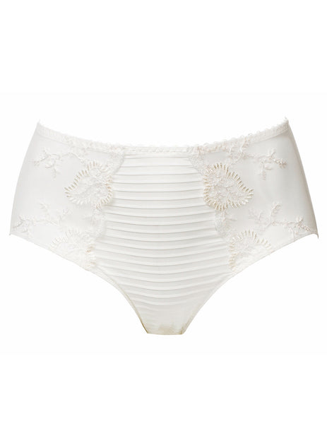 Elise Dreamy Ivory High Waisted Support Brief