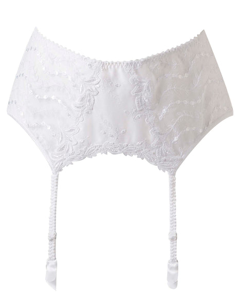 Lys Royal White Suspenders