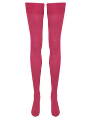 Mimi Stockings - Fuchsia
