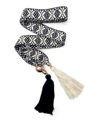 Frances Tassel Belt | Mimi Holliday Designer Beach Accessories