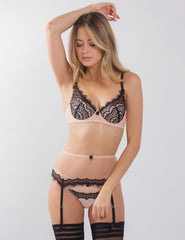 Bisou Zoo Plunge Bra | Mimi Holliday Luxury Lingerie