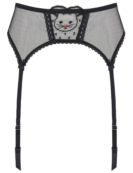 Kitty Goodnight Spitzen Suspender