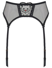 Kitty Goodnight Lace Suspenders