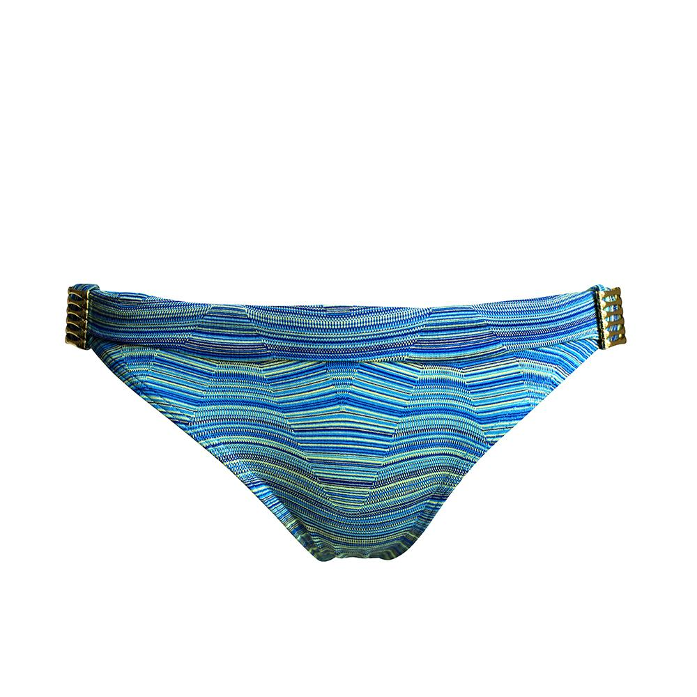 Seasurfer Bikini Brief - Blue Wave - von West Seventy Nine