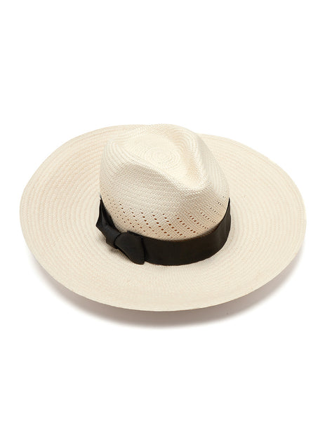 Frances Panama Hat | Mimi Holliday Luxury Beach Accessories