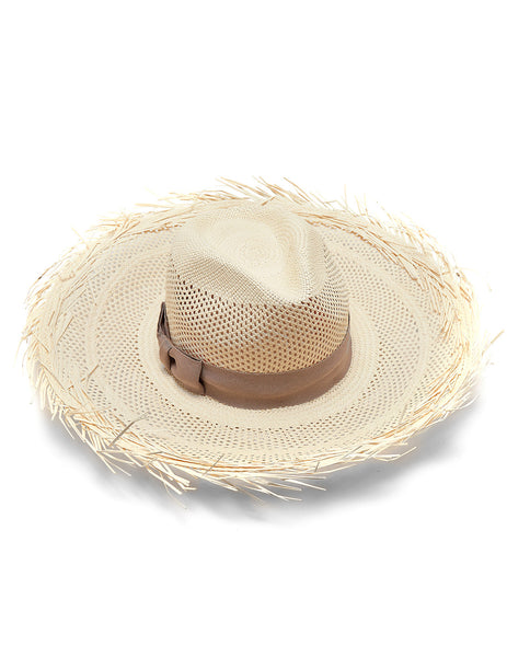 Soleil Panama Hat | Mimi Holliday Luxury Beach Accessories