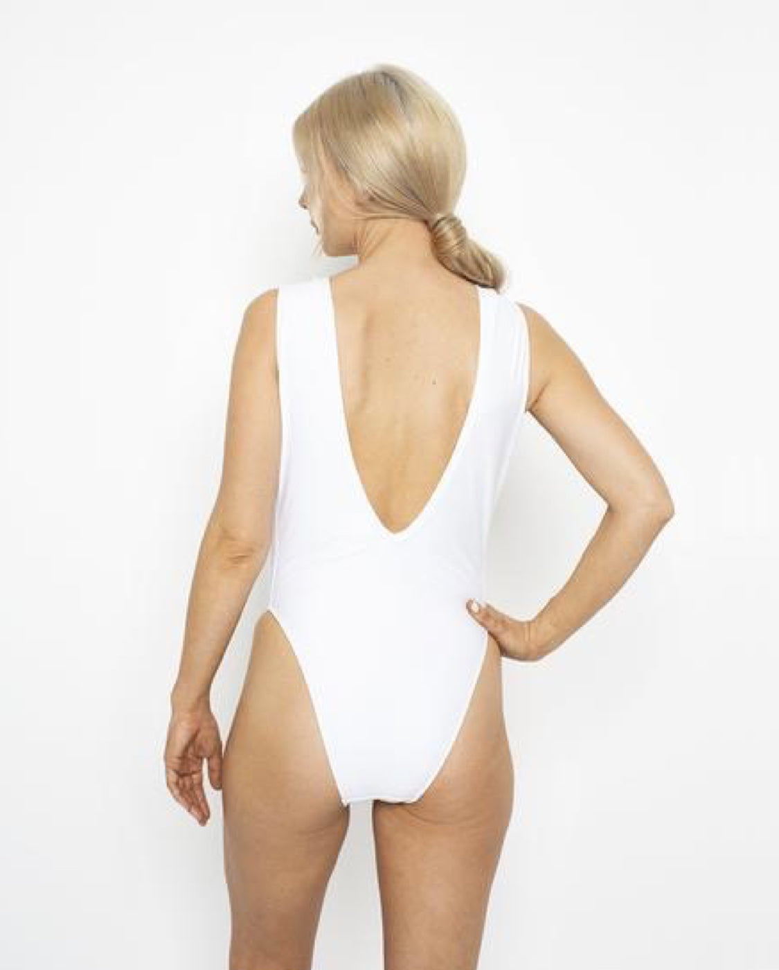 Fringe Me Swimsuit - White - by West Seventy Nine
