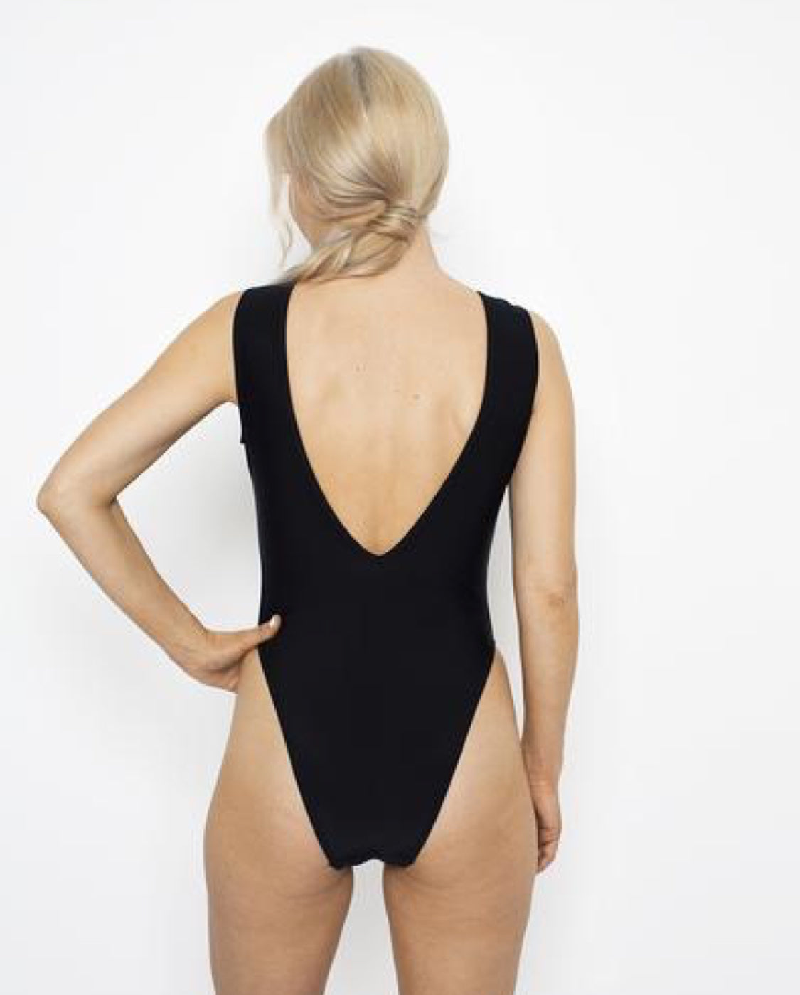 Fringe Me Swimsuit - Black - by West Seventy Nine