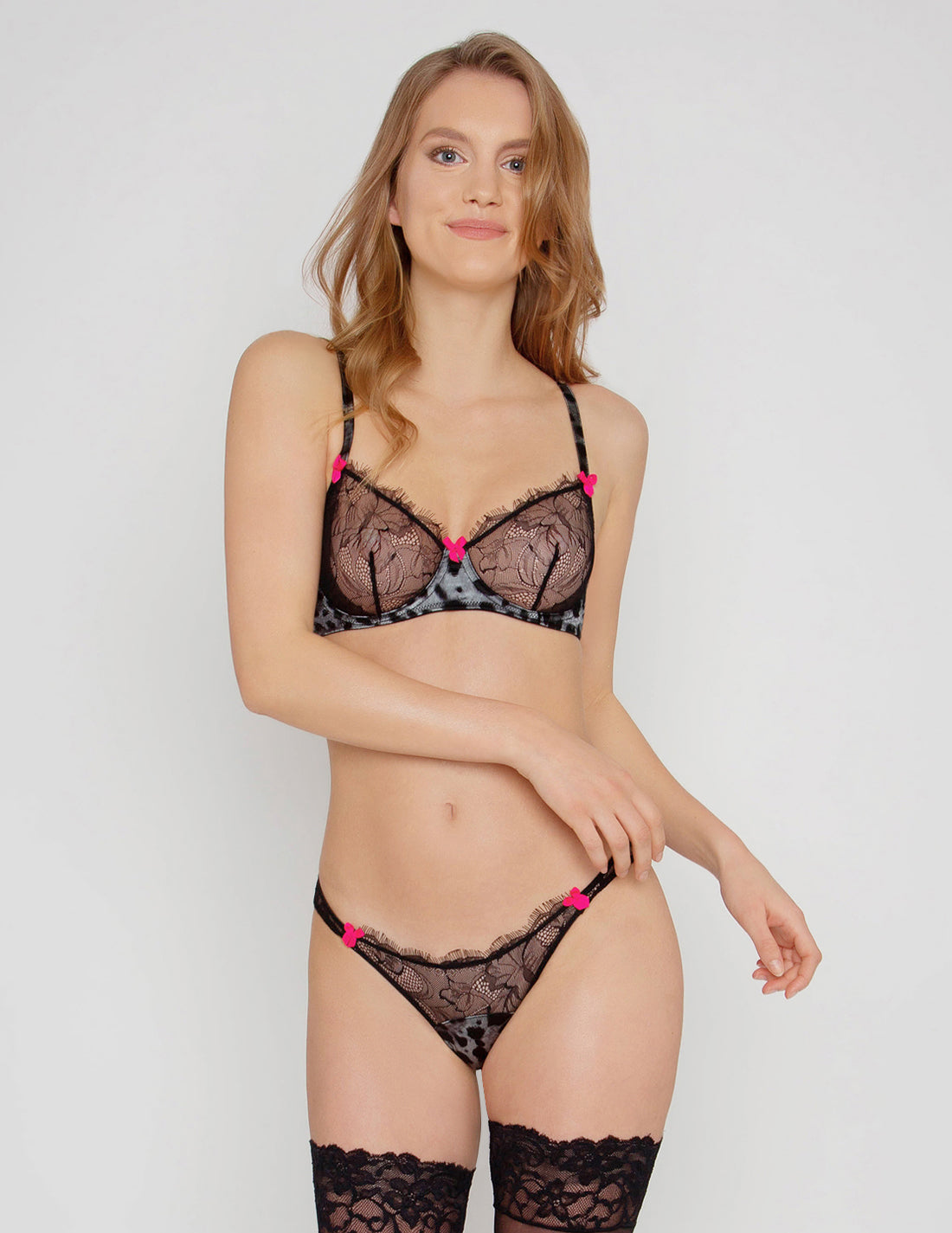 Chicha Panthera Lace Brief