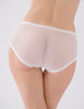 White High Waisted Lace Knickers | Mimi Holliday Designer Lingerie