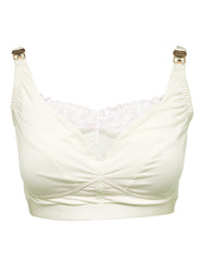 Reggiseno premaman in pizzo color crema | Mimi Holliday Designer Lingerie