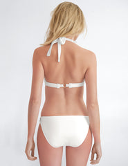 Parte inferior de bikini blanco | Mimi Holliday Sexy Swimwear