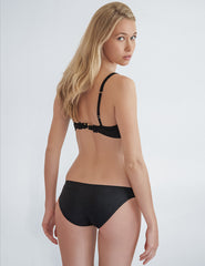 Frances Negro Bikini Bottom | Mimi Holiday Swimwear de diseño