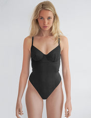 Frances Black Swimsuit | Mimi Holliday Designer Swimwear