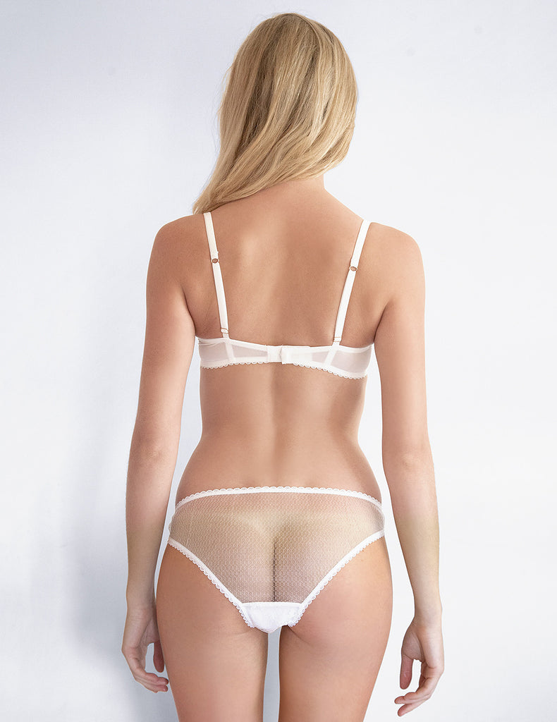 White Lace Comfort Bra | Mimi Holliday Sexy Bridal Lingerie