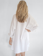 Bonjour White Shirt Beach Dress | Mimi Holliday Sexy Badetøy