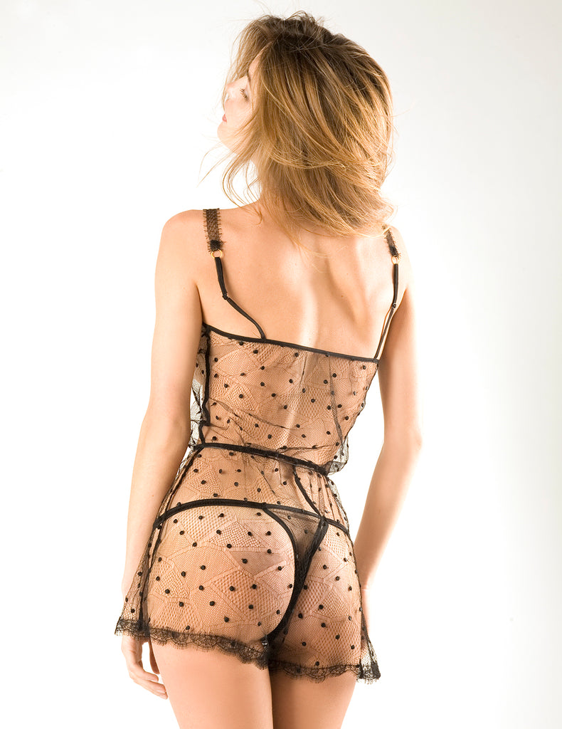The Zanzibar Parisian Lace Teddy | Damaris Luxury Nightwear