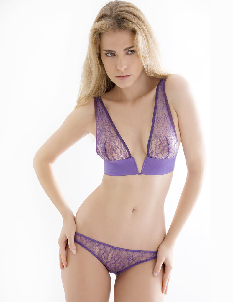 Damaris Persephone Purple Corset Knickers | Dizajn femrash