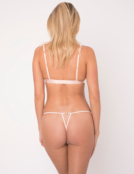 Camelia Ouvert Thong