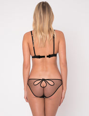 Zi Polka Dot Silk Petal Knickers - Mimi Holliday Dizajn Femrash