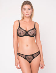 Kitty Goodnight Silk & Lace Comfort Bra