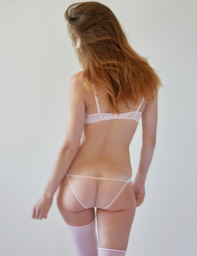 Nude Lace Stars Hipster Knickers | Mimi Holliday Sexy Lingerie