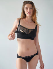 Black Blonde Brief Knickers | Mimi Holliday Sexy Undertøy