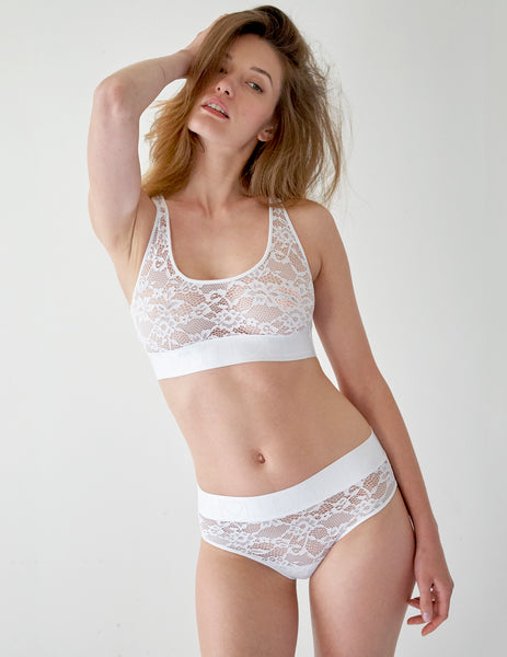 Bra White Lace Pri Bra. | Mimi Holliday luksoze femrash
