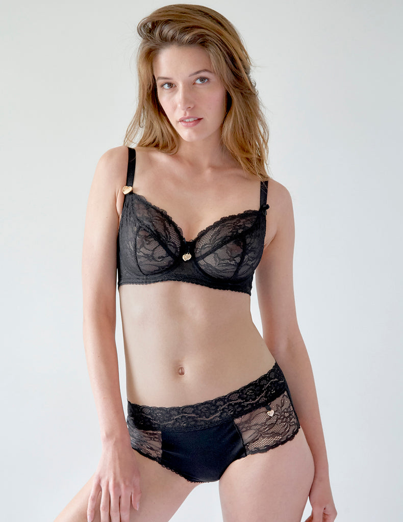 Black Lace Big Cup BH | Mimi Holliday luxe lingerie