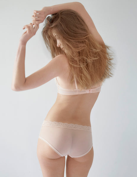 Nude Lace Brief Knickers | Mimi Holliday Sexy Undertøj