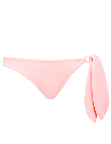 Bonjour Rose Pink Bikini Bottom│Mimi Holiday Designer Swimwear