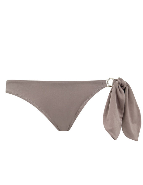 Taupe Bikini Bottom | Mimi Holliday Luxury Swimwear