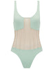 Heliae Mint & Pearl Swimsuit - Conçu par 5pm Swimwear