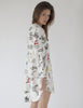Paris Nightshirt Bianco | Mimi Holliday Sexy Nightwear