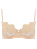 Cream Lace Balcony Bra | Mimi Holliday Designer Lingerie