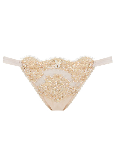 Cream Lace Hipster Knickers | Mimi Holliday Designer Lingerie