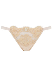 Cream Lace Hipster Knickers | Mimi Holliday Designer Undertøy