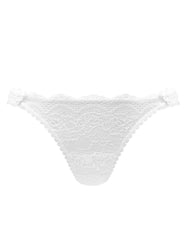 White Blonde Bridal Thong | Mimi Holliday Designer Undertøy